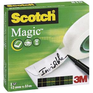 FITA 3M MAGIC 12X33 810 PACK C/6