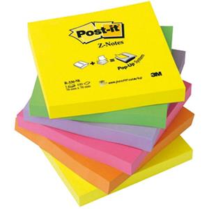 PACK 6 BL.POST-IT ZNOTE 654 NEON R330NR
