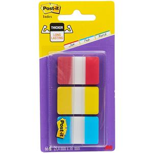 POST-IT INDEX RIGIDO 1POL.CLASSIC 686RYB