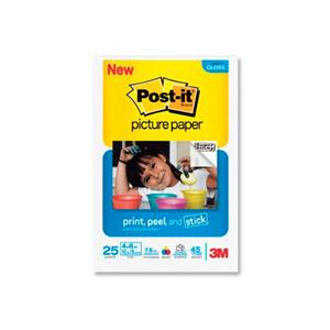 Pap.Foto Semi-Gloss Post-It 10x15 25Fls