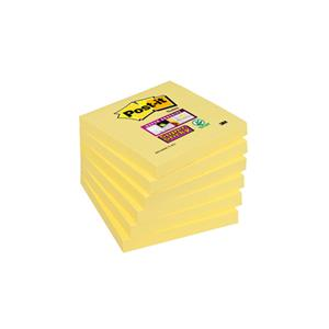 BL.POST-IT SUPER STICK 76X76 654-6SSCY-EU EMB C/6