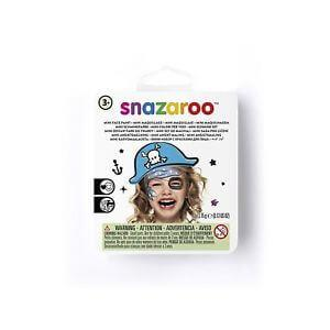 SNAZAROO MINI SET TEMÁTICO PIRATA AZUL