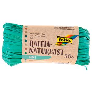 MEADAS RAFIA NATURAL 50G.9025 MENTA