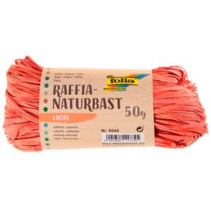 MEADAS RAFIA NATURAL 50G.9045 SALMAO